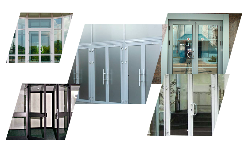 «Холодные» алюминиевые двери